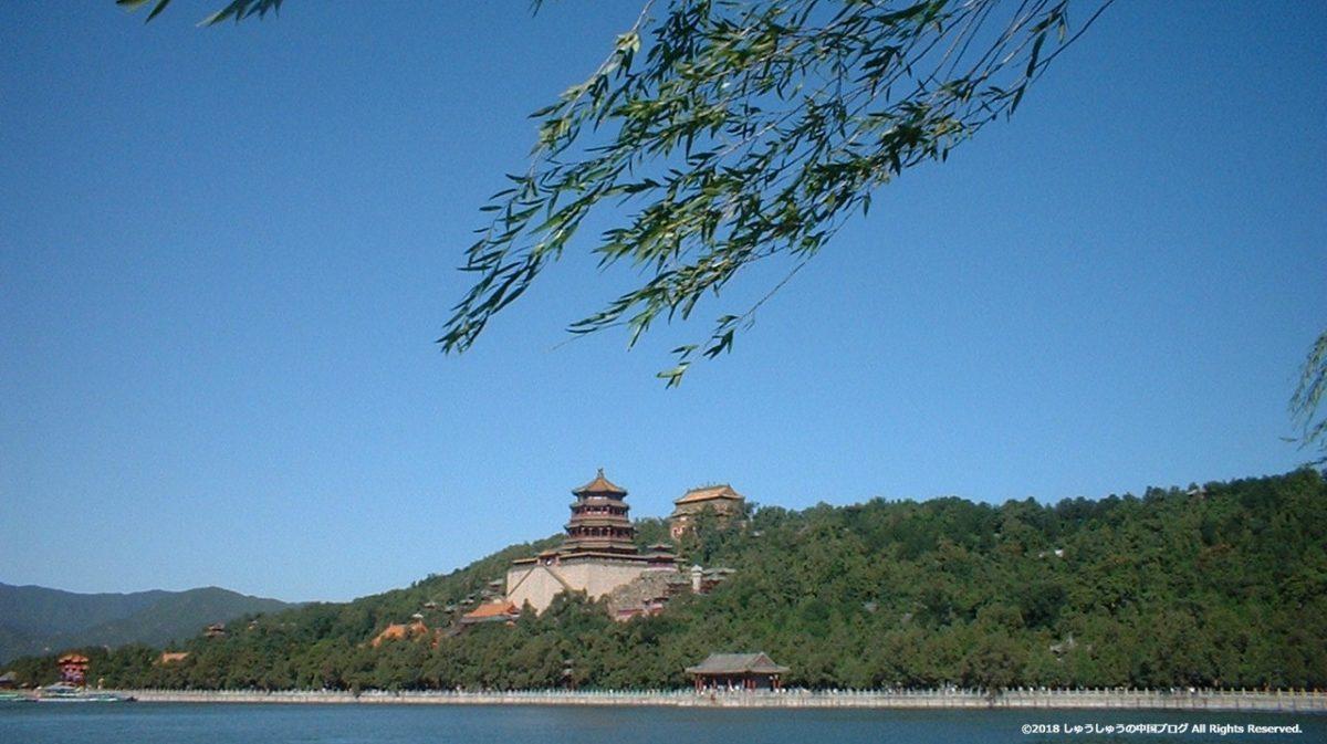頤和園昆明湖と万寿山