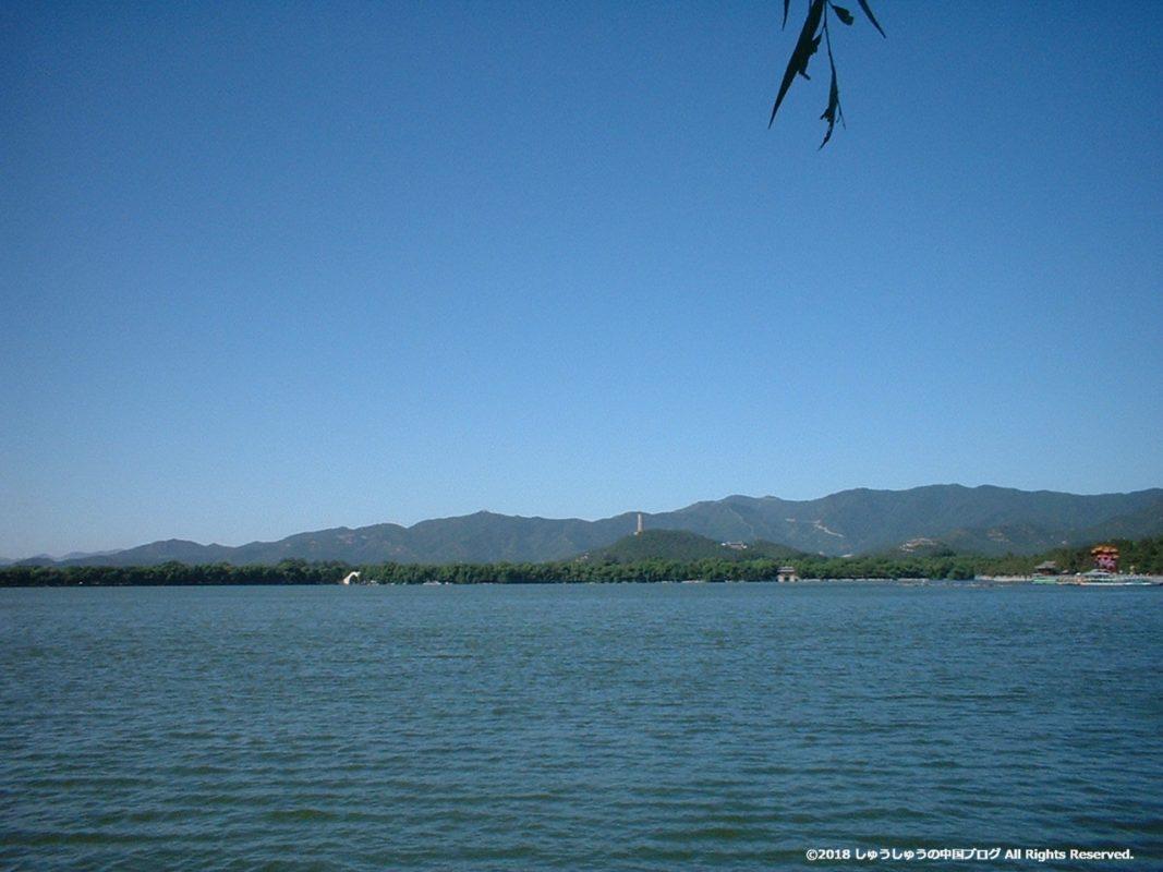 北京頤和園の昆明湖