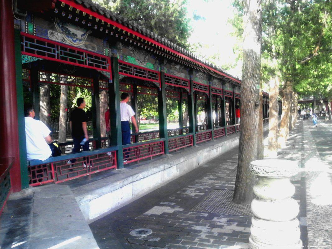 北京頤和園の長廊