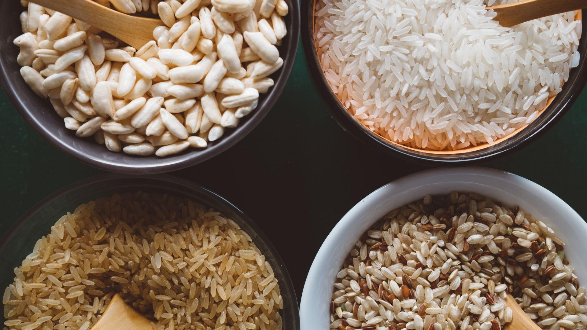 米や玄米などの主食
