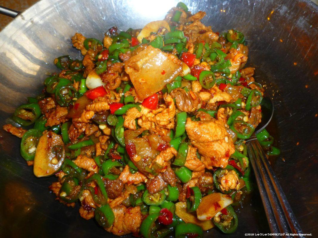湖南料理 辣椒炒肉