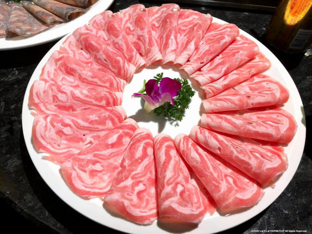 錦城印象の羊肉