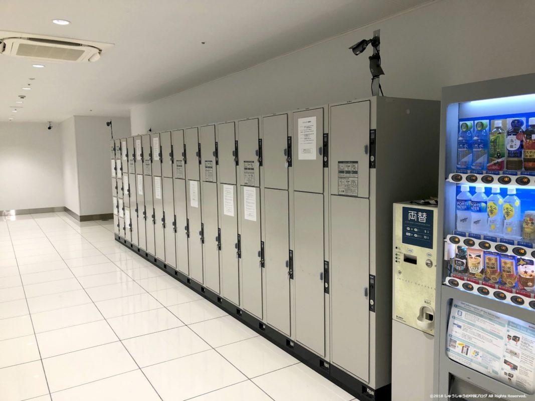 関西国際空港第2ターミナルのコインロッカー