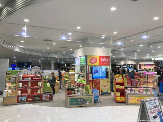 関西国際空港第2ターミナルの免税品店その2