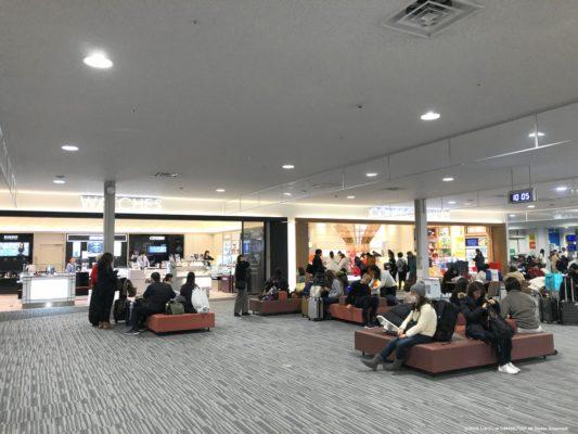 関西国際空港第2ターミナルの免税品店
