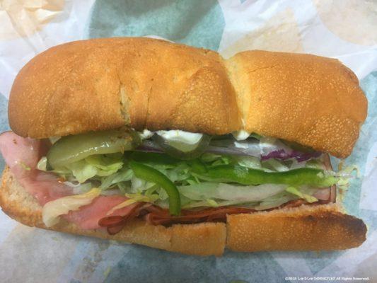 中国のサブウエイのサンドイッチ
